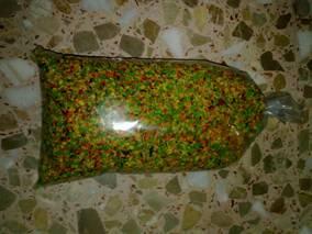 verduras liofilizadas